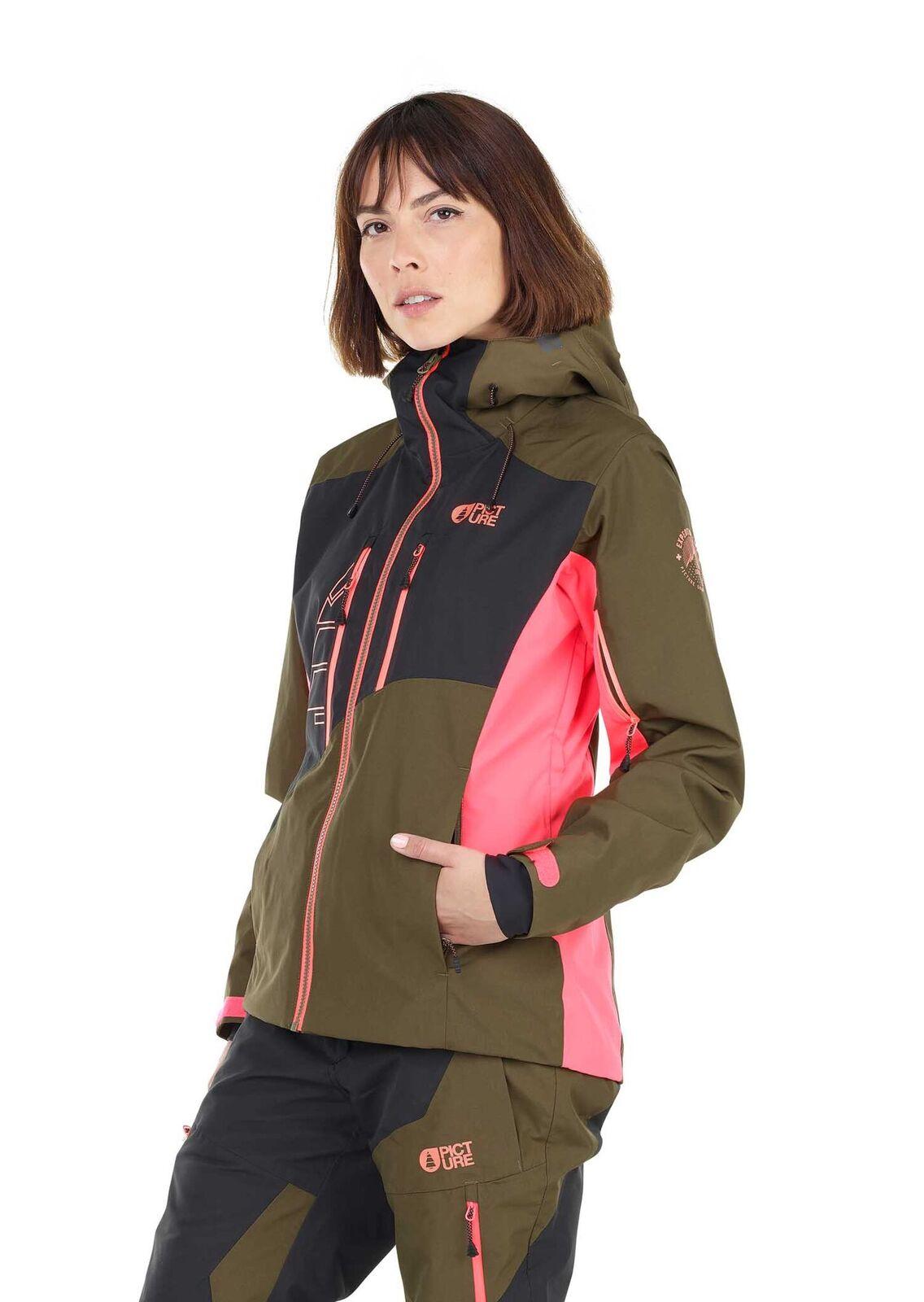 d6cee006 Black Seen Jacket skijakker til damer fra Picture